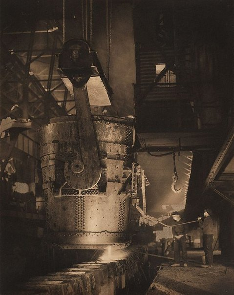 Pouring steel, Newcastle B.H.P.