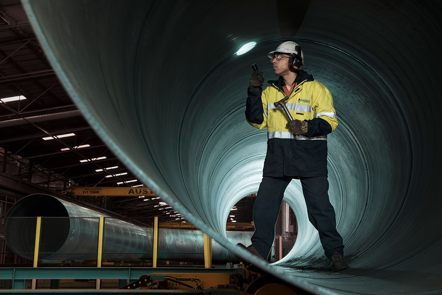 <div>Industrial</div><div> <a href='https://www.nedmeldrum.com.au/project/steel-pipes/'>View Series</a></div>